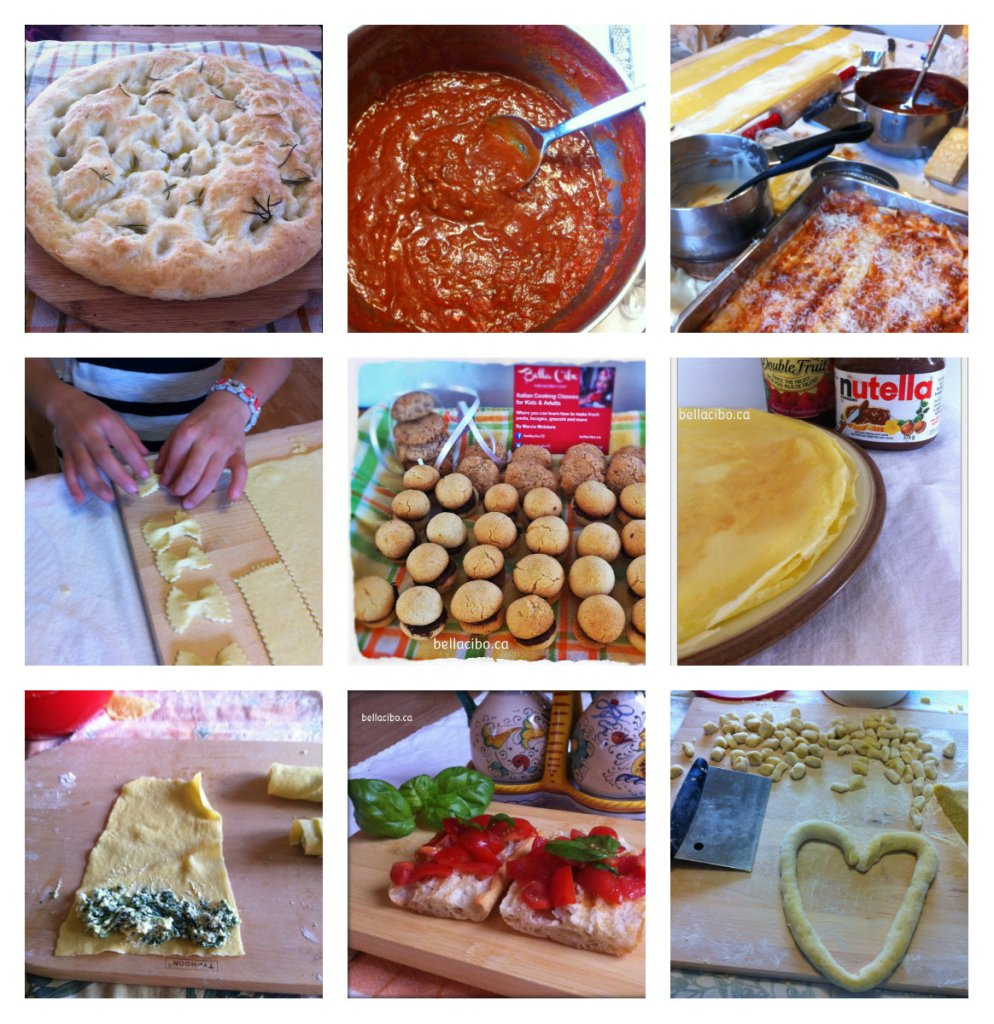 collage cooking class