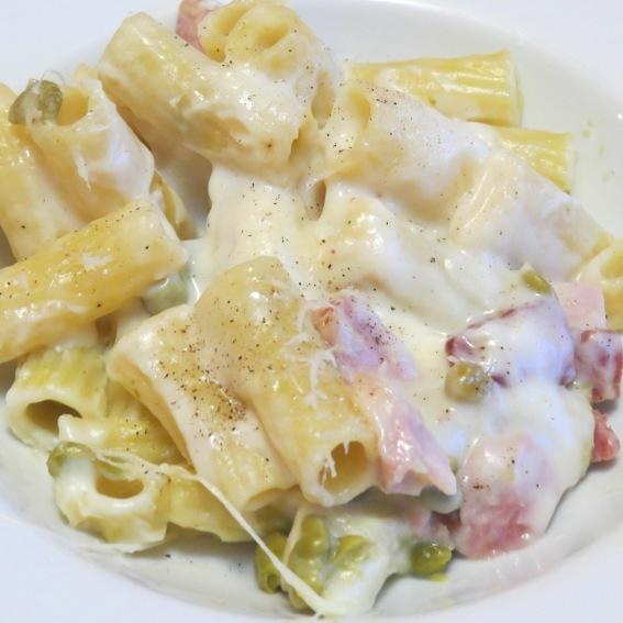 recipe book pasta in bianco con besciamella