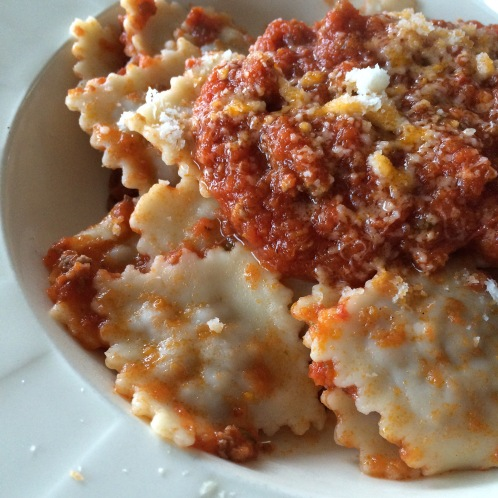 recipe book ravioli